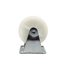 3 inch light duty flat plate rigid PP casters