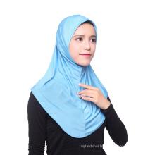Nouvelle arrivée simple fashinable dubai africain foulard de tête musulman hijab