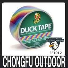 decorative high quality duck tape in bright color