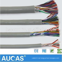 China Manufacture Indoor, Outdoor 0.4mm-0.5mm Multipair Kommunikationskabel Underground Telefonkabel