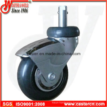 3 Inch Furniture Swivel Caster with Precision Double Ball Bearing