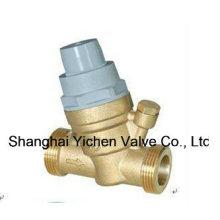 Exterior rosca válvula reguladora de presión con agua