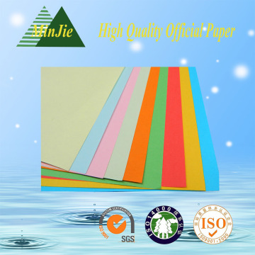 Alta qualidade de madeira livre cor Offset papel impresso para papel decorativo Shredded