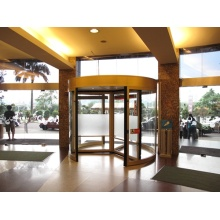 Windproof Function for Classic Three-wing Revolving Doors