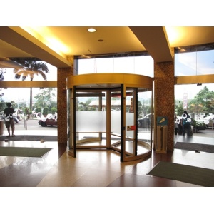 Three Modes for Three-wing Automatic Revolving Doors