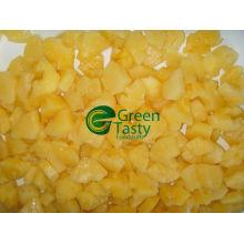 Замороженные кусочки ананаса высокого качества IQF