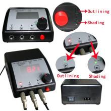 Fonte de alimentação dupla Hb1005-82 da máquina da tatuagem da saída da exposição barata do LCD