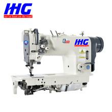 Máquina de costura de agulha dupla IH-8722D com gancho grande