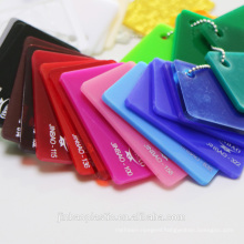 Jinbao advertising high quality flame retardant cast 2.5mm acrylic sheet