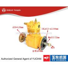 Compresor de aire original YUCHAI YC6105 630-3509100A para camiones chinos