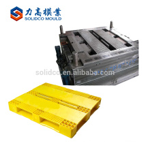 Pallet mould Single Double-deck pallet plastic injection mold mould maker