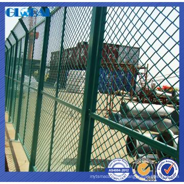 système de clôture de fil enduit de poudre / système isolé de barrière de l'atelier