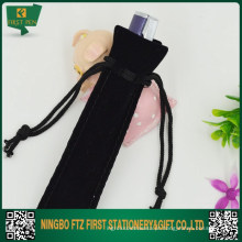 Bolsa de caneta de couro personalizada barata