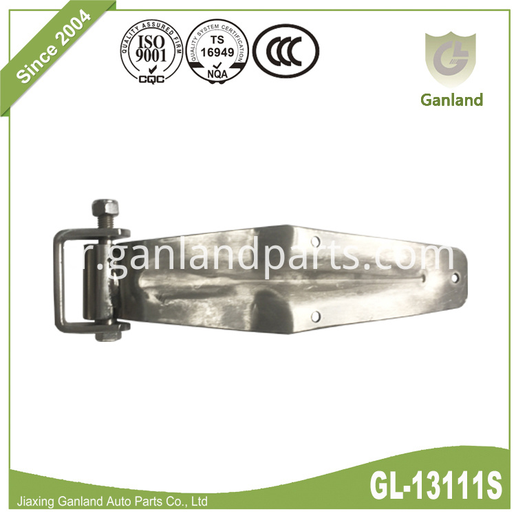 polished stainless steel hinge GL-13111S