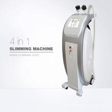 Ultra Lipo Kavitation + RF Schönheit abnehmen Maschine, Kavitation & RF & Vakuum & Laser für Körperformung, mit Fußschalter & gute Qualität