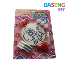 New design glitter glue painting set for kids