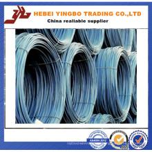 Varilla de alambre de acero de baja de carbono de alta calidad