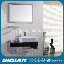 Hangzhou Mirrored Cabinet Vanité de salle de bain moderne en acier inoxydable