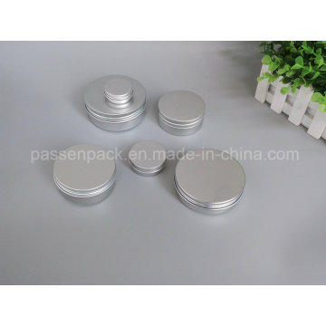 Cosmetic Cream Jar with Screw Cover (PPC-ATC-082)