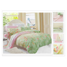 40*40s 133*72 reactive printing Purebest tencel bedding set