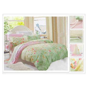 40*40s 133*72 reactive printing Purebest tencel bedding set