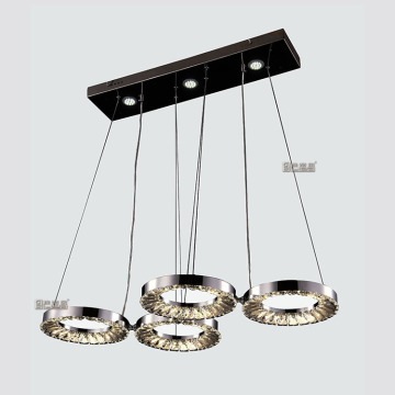 stainless steel crystal lamp decorative hanging chandeliers