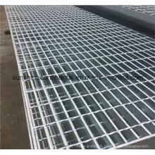 Caillebotis galvanisé plongé à chaud de passerelle de barre d'acier de plate-forme de plancher