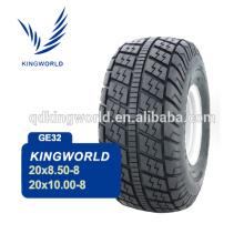 Quatre roues 20 * 10 h 00-8 pneu de voiture de Golf