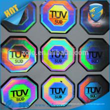 Electrónica de consumo garantía vacío etiqueta fabricante holograma tira etiqueta
