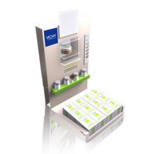 Impressora acrílica de exibição de prateleira superior Merchandisers para Face Cream