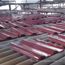 Kobaltblau glasierte keramische verriegelte Dachziegel