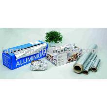 desechables de papel de aluminio envolver el rodillo de la hoja