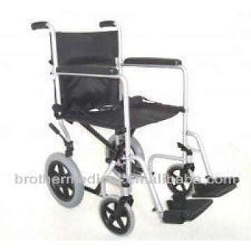 portable aluminum transit wheelchair