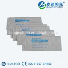Sachet de stérilisation plat thermoscellable en Chine