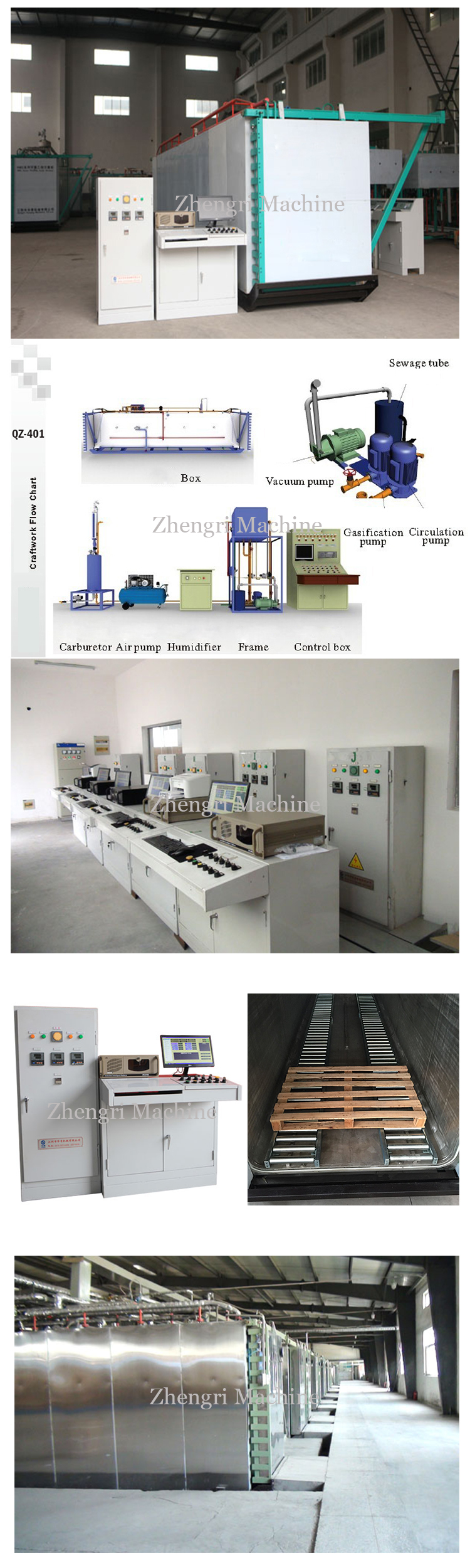 ETO sterilizer machine