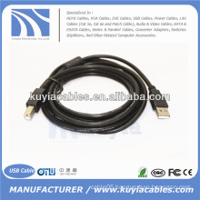 USB 2.0 AM to BM Printer Cable for HP Printer 20cm.1m,1.5m,3m,5m..