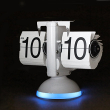 Flip Desk Clock para Home Office