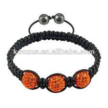 Rhinestone shamballa jewellery bracelet