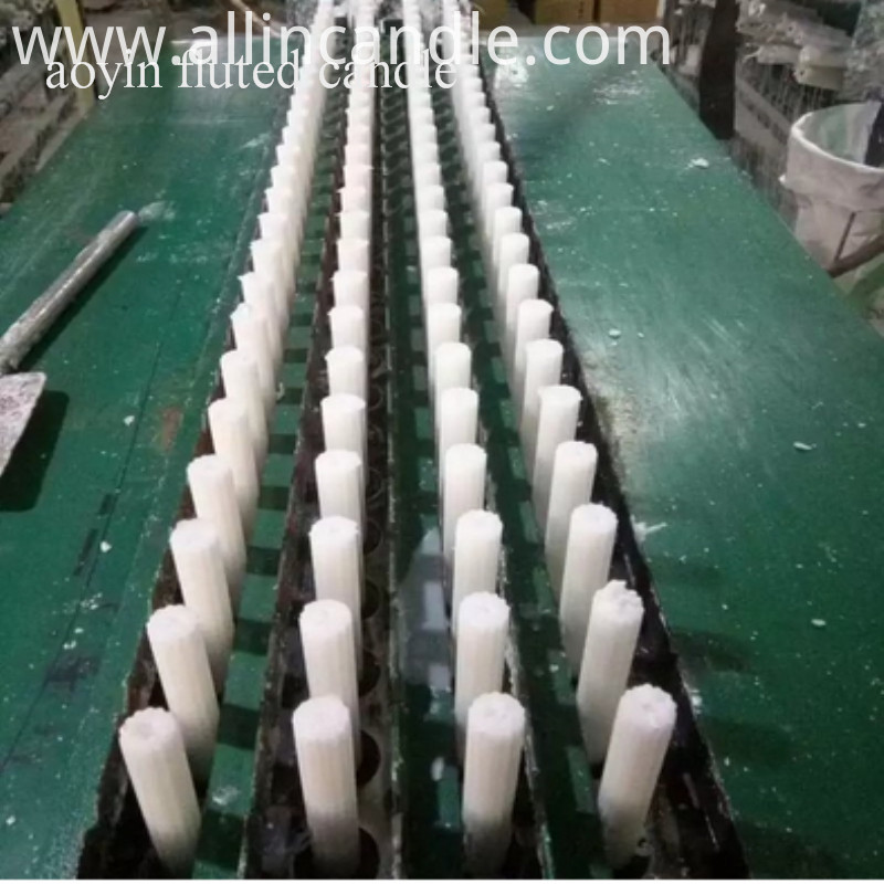 Fluted Candle Factory