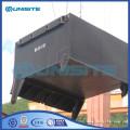 Marine construction pontoon fittings