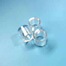 Kundenspezifisch Hochwertige zylindrische Saphirlinse für Laser