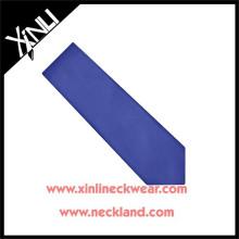 Nettoyer à sec seulement 100% à la main en soie Skinny Royal Blue Mens Tie