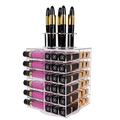 Spinning Lipstick Tower Premium Acrylic Rotating Holder
