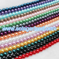 Wholesale 4-16MM Glass Pearl Spacer Loose Beads Charms
