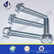 Boulon hexagonal DIN 6921 m18, qualité 8.8