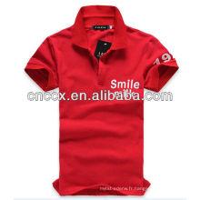 13PT1053 Vente chaude t shirt de bonne qualité hommes polo shirt