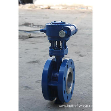 Flange High Performance Butterfly Valve
