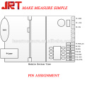Módulo de láser infrarrojo de línea de 150 m rs232 bluetooth