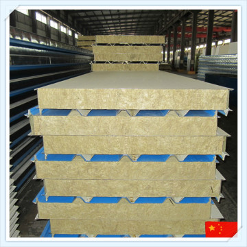 EPS/PU/Mineral Wool Sandwich Panel for Wall or Roof