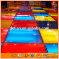 light weight folding aluminum portable stage portable mobile stage mobile trade show stage